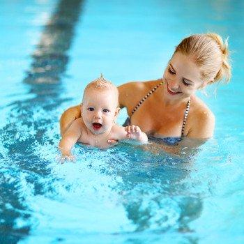 Plávanie pre bábätká