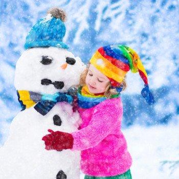 Stavanie snehuliaka