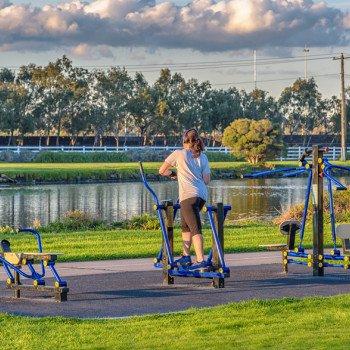 Vonkajšie fitnes cvičenie